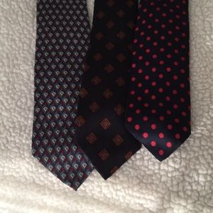 Other - Men's 100% Multi-Colored Silk Ties